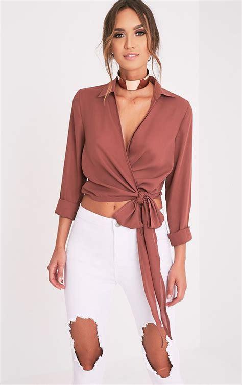 Blouse Blouse blouses s dress shirts blouses prettylittlething