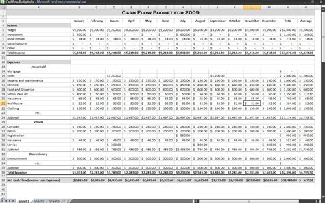 Exle Cash Flow Budget | calculating extra loan repayments in excel part 3