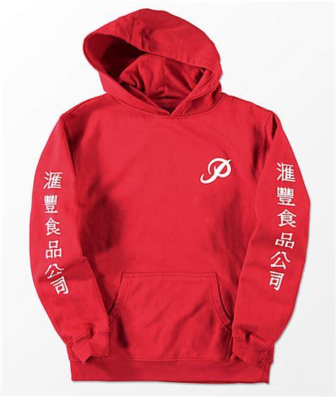 Sweater Vgod Redmerch 1 primitive x huy fong boys hoodie zumiez