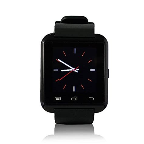 Onix Smartwatch U U8 Black N White Smart 1 iloilo yuntab mobile u8 smartwatch bluetooth 3 0
