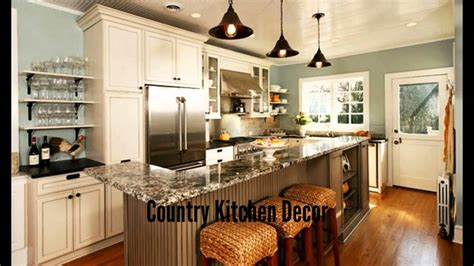 country decorating ideas for kitchens country kitchen decor youtube