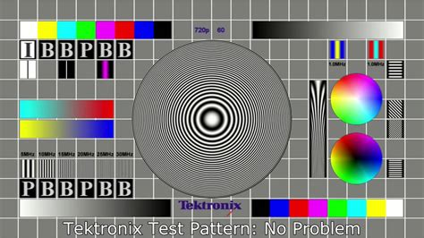 online test pattern generator tektronix mpeg test signal youtube