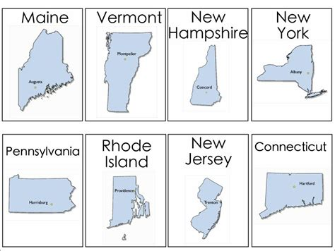 printable flash cards of states and capitals 6 best images of 50 states flash cards printable 50