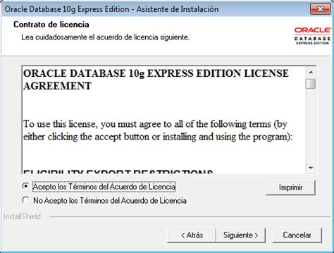 tutorial oracle database 10g express edition como instalar oracle database 10g express edition xe tu