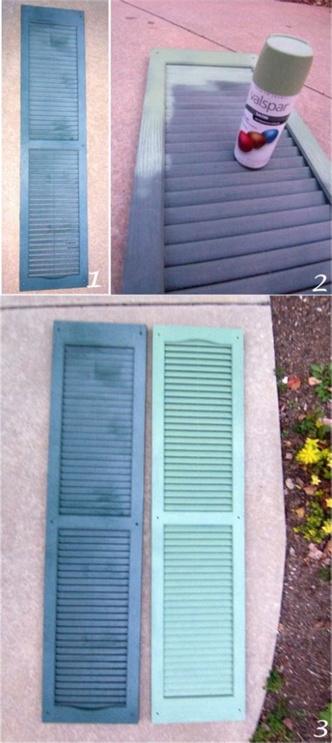 diy project painting your shutters going home to roost