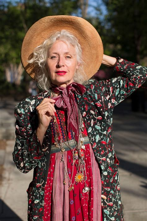 bohemian clothing for older women advanced style new year s resolutions advanced style