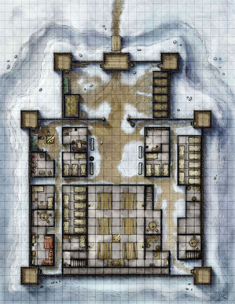 Gothic Mansion Floor Plans the stockade by torstan on deviantart