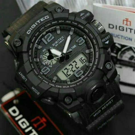 Jam Tangan Pria Reddington Bj431 Original Black Grey T1310 jual jam tangan digitec dg 2093 original water resist