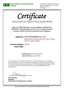 certificate template companies house certificates rohs electronics testing center tr514 1