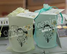 Tatakan Gelas Motif Binatang Souvenir Hkn227 gelas tile griya souvenir