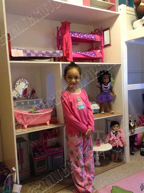 the biggest american girl doll house in the world camis craft corner dolls crafts ideas projects