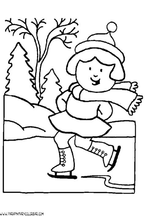 imagenes para colorear vacaciones de invierno dibujos de invierno para colorear 071