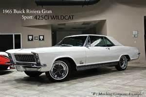 Buick Riviera Gran Sport 1965 1965 Buick Riviera Gran Sport Rear View Car Interior Design