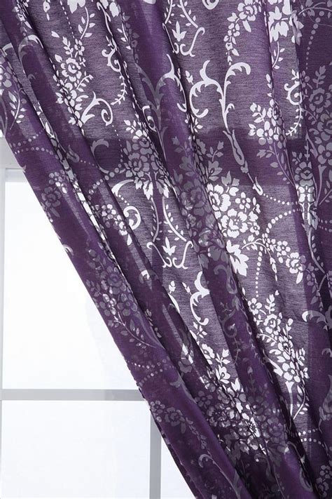 purple and gray curtains curtains purple curtains and purple on pinterest