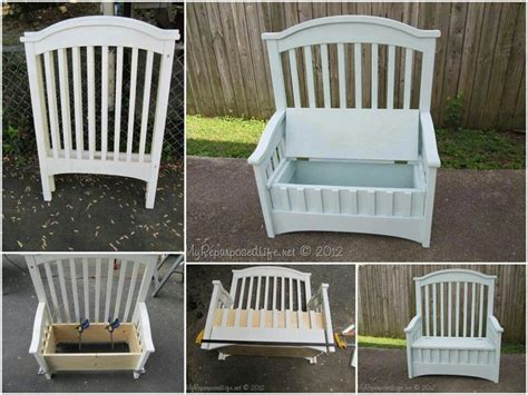 baby crib bench best 25 repurposing crib ideas on pinterest reuse cribs