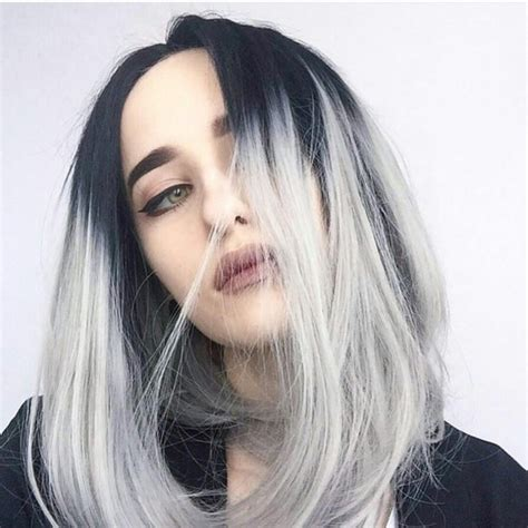 Harga Warna Rambut Silver Ombre by Hair Accessory Silver Hair Ombre Bob Hairstyles