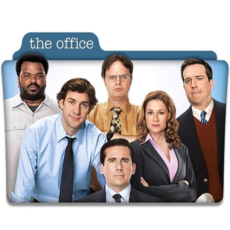 Office Tv Show The Office Tv Series Folder Icon By Dyiddo On Deviantart