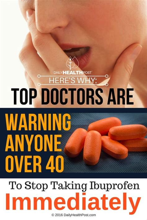 Homeopathic Remedies Warning For top doctors are warning anyone 40 stop taking