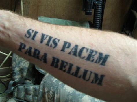 si vis pacem para bellum tattoo designs si vis pacem parabellum wrist and arm tattoos