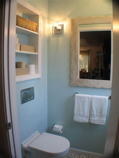 Recessed Bathroom Storage Yuliany 187 Archive 187 Tiny Powder Room