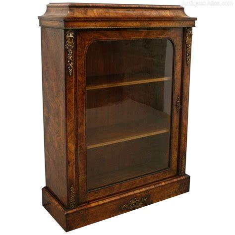 Pier Cabinet Early Burr Walnut Pier Cabinet Antiques Atlas