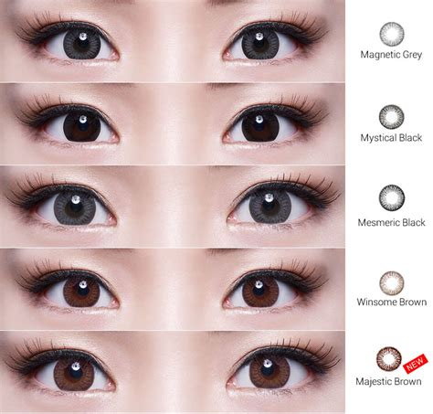 Softlens Soflens Soflen Freshkon Alluring Winsome Brown freshkon alluring colors singapore contact lenses