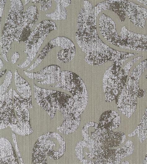 metallic damask wallpaper by brian yates clayton