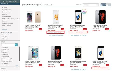 Hp Iphone6 Malaysia tips beli iphone 6s tanpa kontrak atau dengan kontrak telco