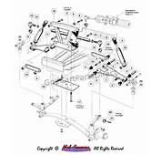 Front Suspension  Upper Club Car Parts &amp Accessories