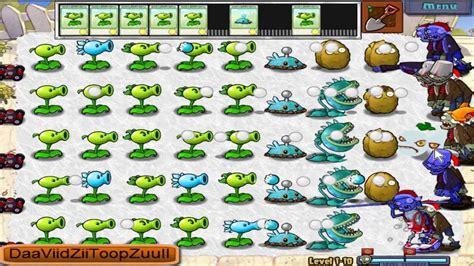 imagenes de plantas vs zombies navidad plantas vs zombies xmas navidad nivel 1 10 1080p hd