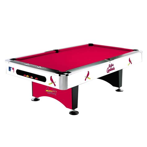 pool tables and bar stools st louis cardinals 8 ft pool table 0064 2008 table