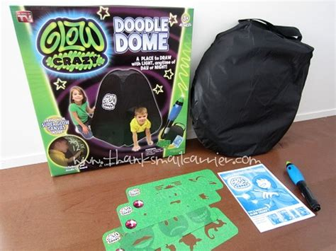 doodle dome thanks mail carrier glow doodle dome review