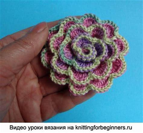 como hacer flores de crochet flores de ganchillo flor como tejer crochet tejido
