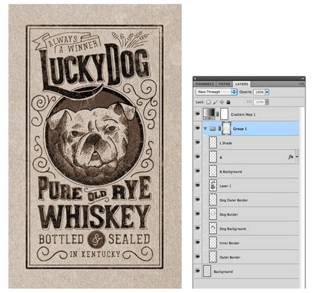 tutorial design label how to create a hand drawn label design medialoot