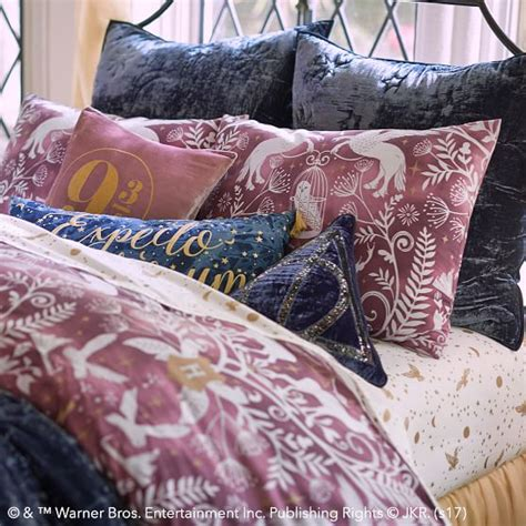 harry potter bedding comforter harry potter patronus damask duvet cover sham pbteen
