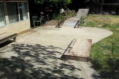 my backyard skatepark outdoor furniture design and ideas