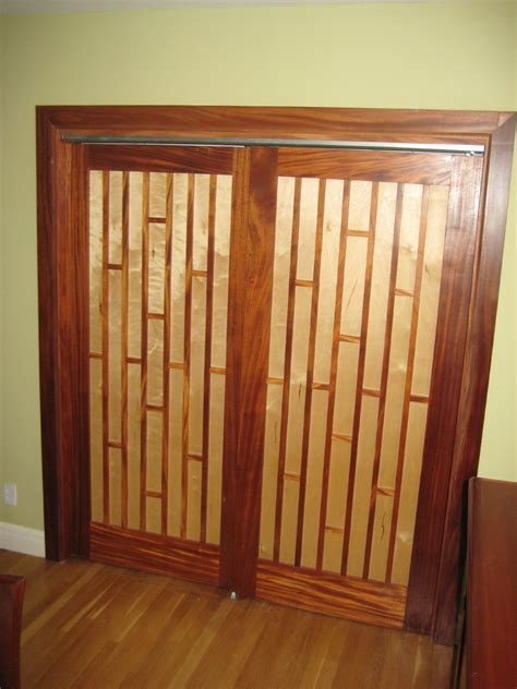 Mahogany Maple Closet Doors Closet Door Images