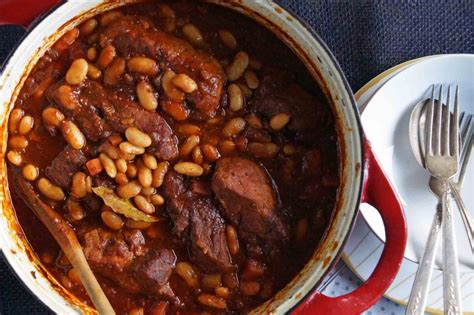 pork and beans cider braised country style pork ribs cannellini beans