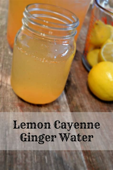 Lemon Cayenne Water Detox by Best 25 Lemon Cayenne Detox Ideas On Cayenne