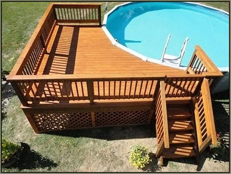 Pool Deck Plans by Deck Plans For Above Ground Pools Search