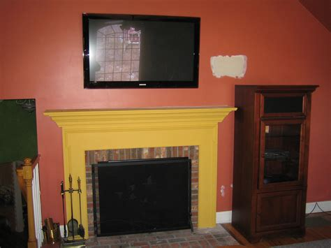 Mount Tv Fireplace by Simsbury Ct Mount Tv Above Fireplace Home Theater