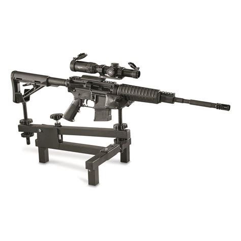 rest bench guide gear bench rest 633862 shooting rests at sportsman s guide