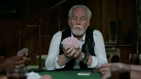geico playing cards with kenny rogers commercial geico playing cards with kenny rogers commercial