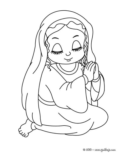imagenes de la virgen maria para pintar virgen mar 205 a dibujos para colorear la virgen maria rezando es