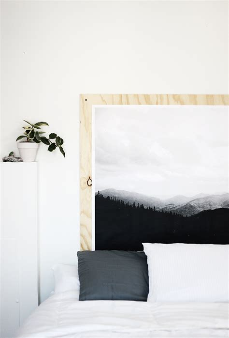 Plywood Headboard Diy by Diy Plywood Print Headboard 187 The Merrythought