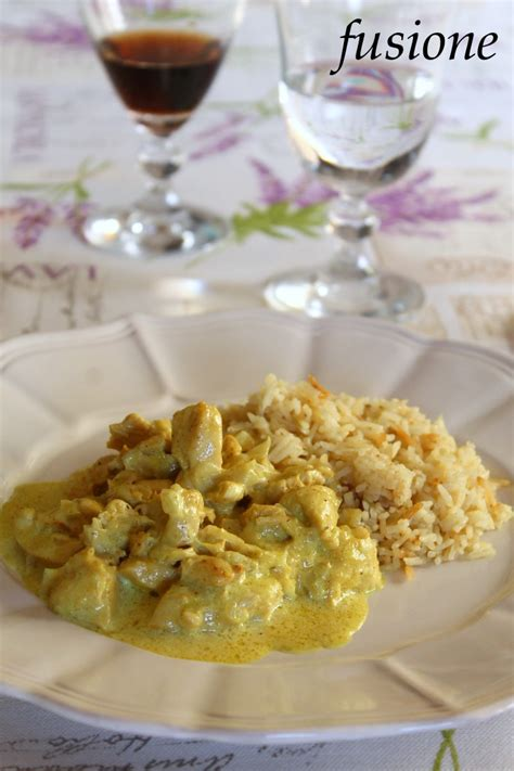 cucinare il pollo al curry pollo curry
