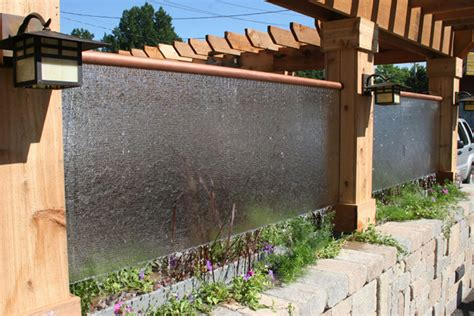 Backyard Wall Ideas by 38 Amazing Outdoor Water Walls For Your Backyard Digsdigs