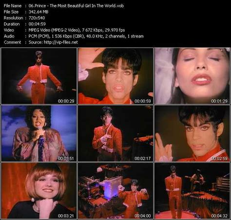 download prince video the most beautiful girl in the