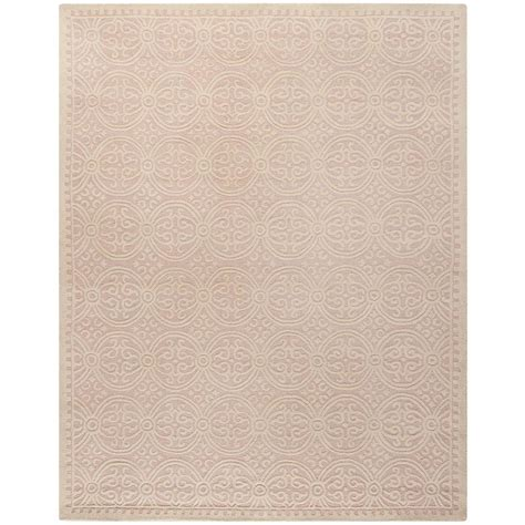 Light Pink Area Rugs Safavieh Cambridge Light Pink Ivory 8 Ft X 10 Ft Area Rug Cam123m 8 The Home Depot