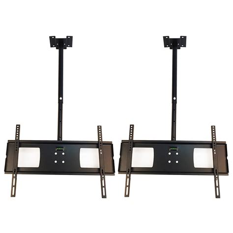 2 ceiling mount lcd 4k led plasma flat screen tv wall 32